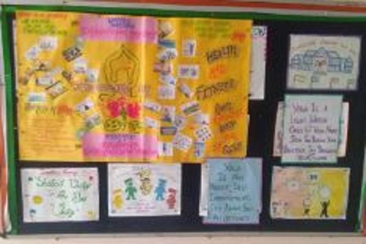 Baroda Public School-Notice board
