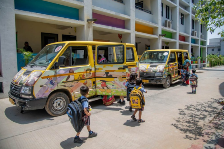 Bhavkunj School,kadi mehsana-Transport