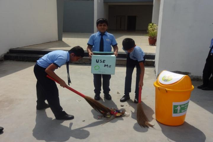 Blue Moon International School,Karjan-Cleanliness Maintenence