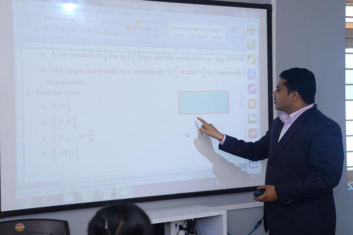 Blue Moon International School,Karjan-Digital Classroom