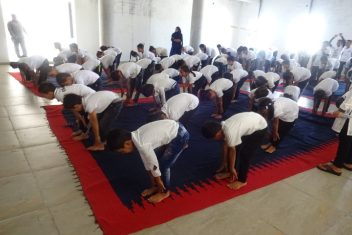 Blue Moon International School,Karjan-Yoga