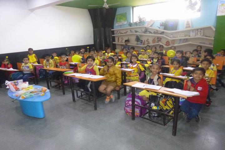 Bright International School-Kids classroom
