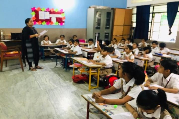 Calorx Public School-Picture reading competition