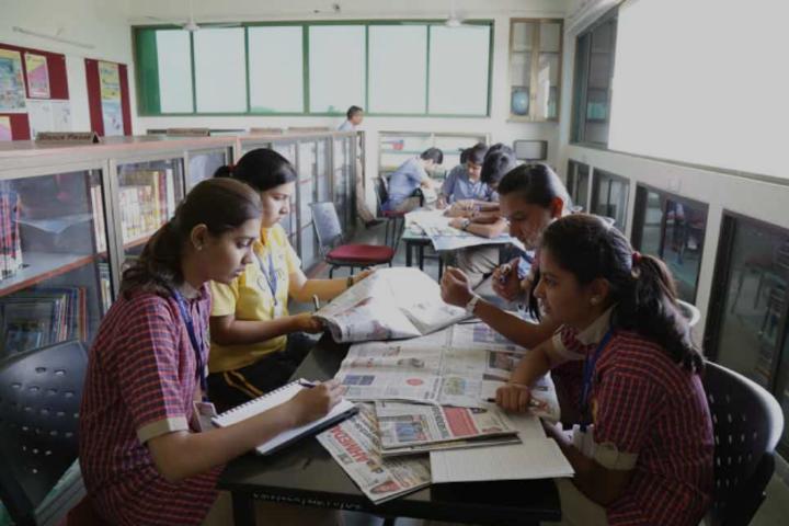 Chaitanya School-Library