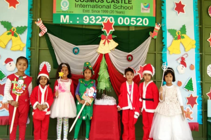 Cosmos Castle International School-Christmas celebrations