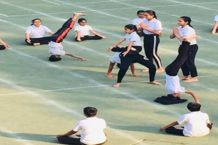 Cosmos Castle International School-Yoga