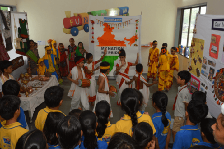 D R Amin Memorial School-National day celebrations