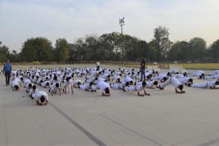 Delhi Public School-Physical education