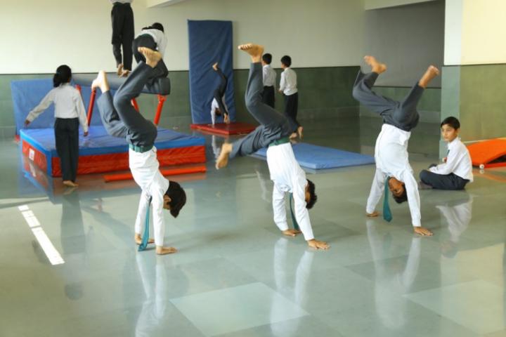 Delhi Public School-Gymnastics