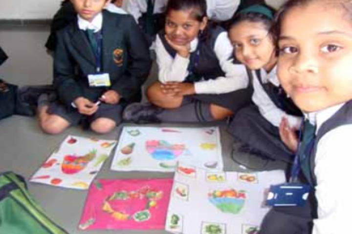 Delhi Public School-Painting Class