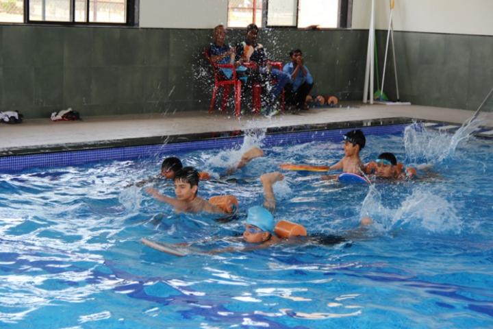 Delhi Public School-Swimming