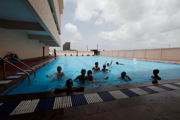 Delhi Public School-Swimming facility