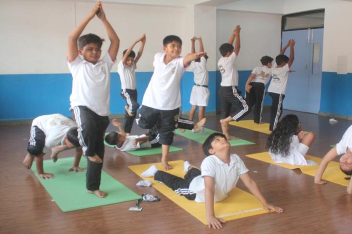 Delhi Public School-Yoga