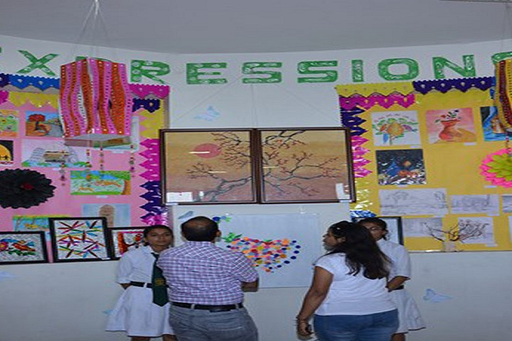Delhi Public School-School Exhibition