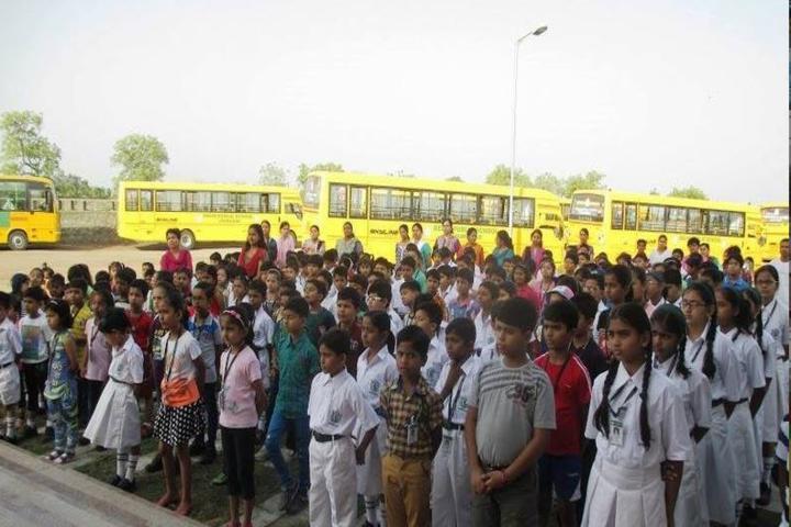 Delhi Public School-School assembly