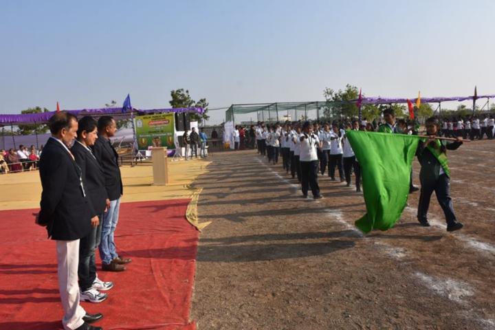 Delhi Public School-Sports day celebrations