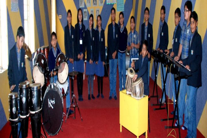Divine Child School-Music class