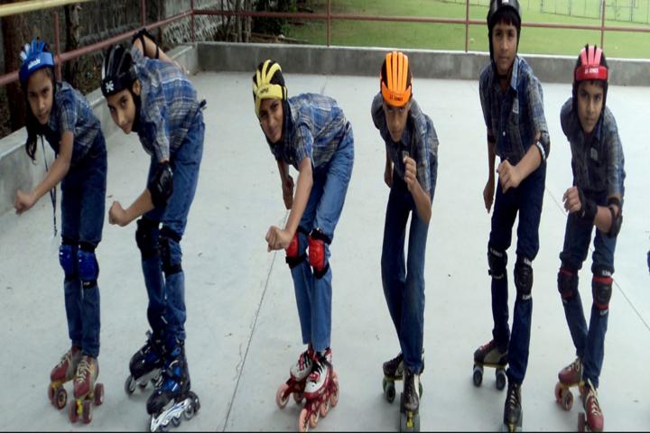 Divine Child School-Skating
