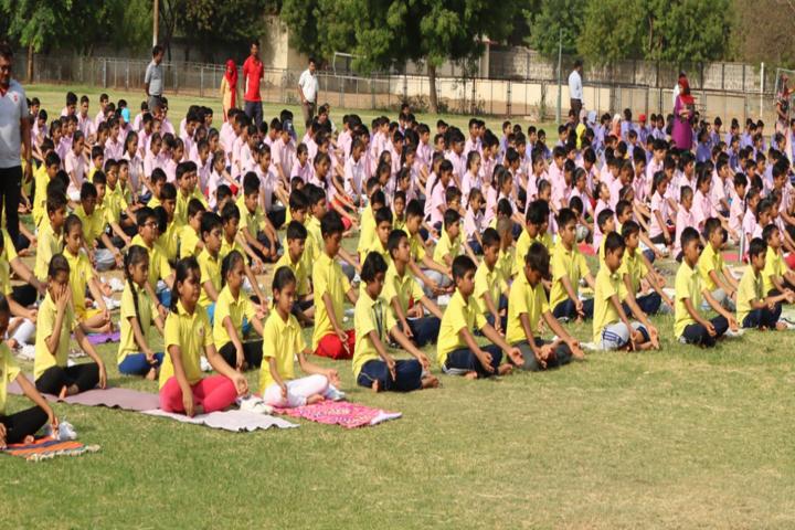 Divine Child School-Yoga