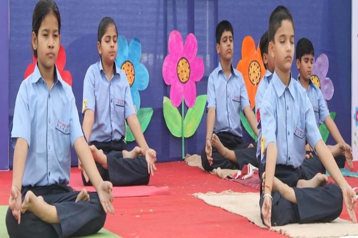 Divya Jyot School-Yoga