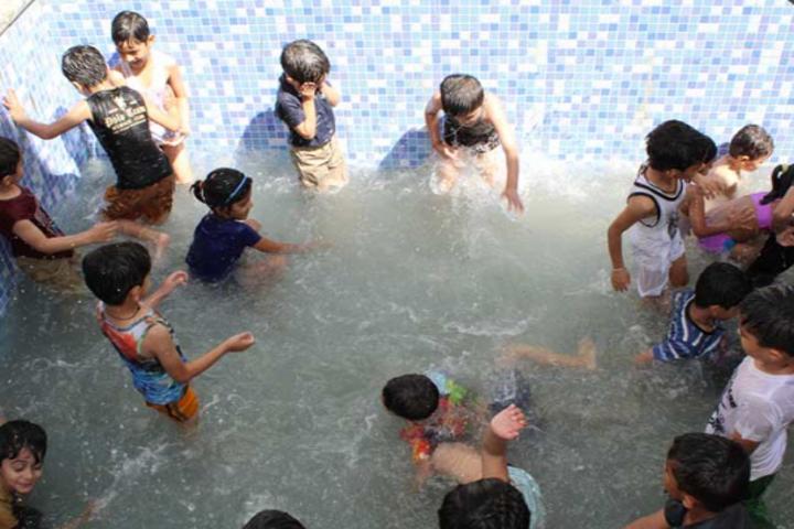 Eklavya Global School-Swimming Pool