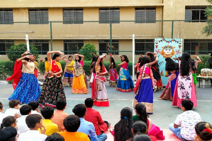 Euro School-Navrati Celebrations