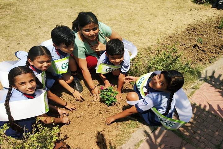 Fellowship Mission School-Primary Tree Plantation