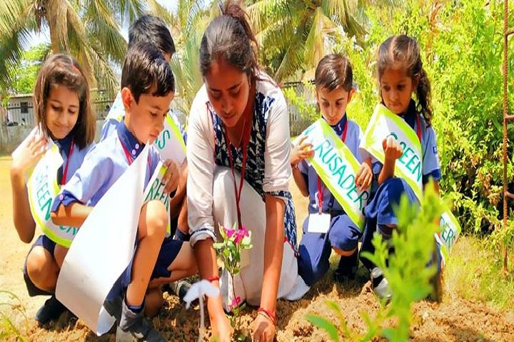 Fellowship Mission School-Sapling Plantation
