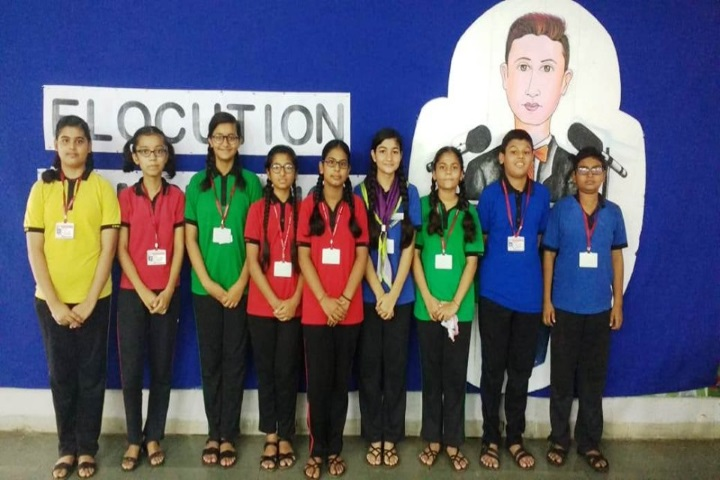 Fellowship Mission School-Elocution Competition