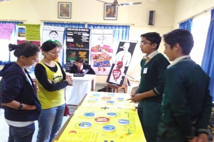 Firdaus Amrut Centre School-Science Exhibition