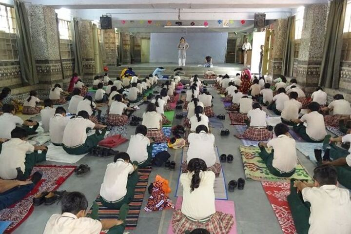 Firdaus Amrut Centre School-Yoga Day Celebrations