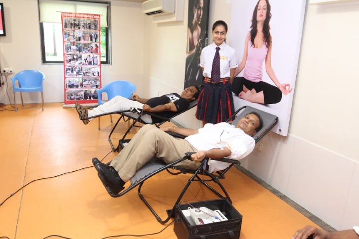 G D Goenka International School-Blood Donation Camp
