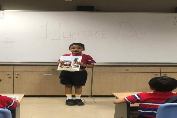 G D Goenka International School-Celebrating Heritage Day