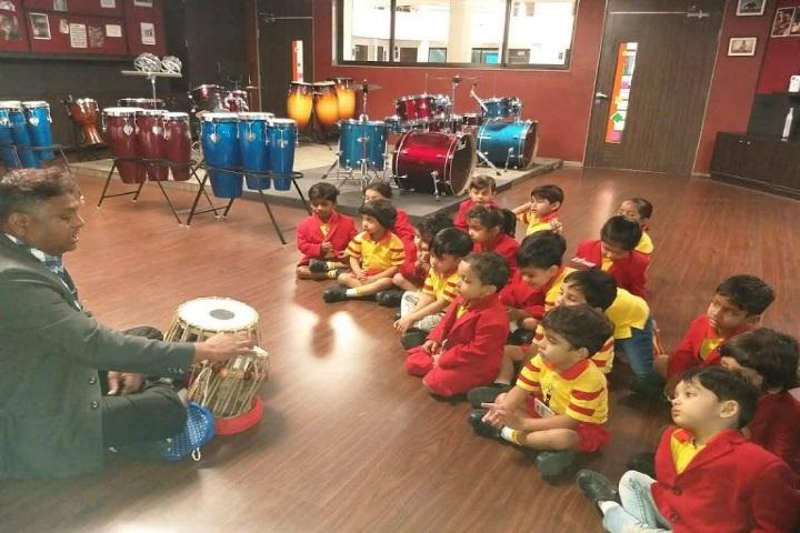 G D Goenka International School-Music Class