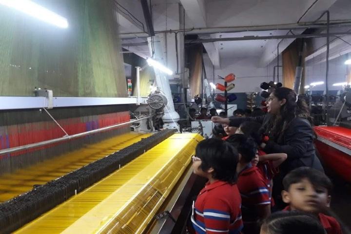 G D Goenka International School-Trip To Thread Factory