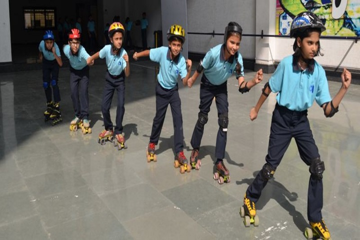 Gajera Global School-Skating Activity