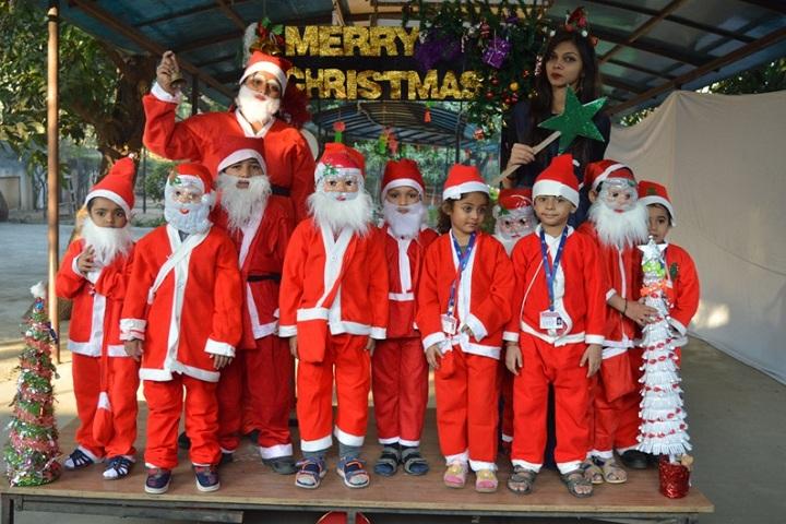 Gajera International School-Christmas Celebrations