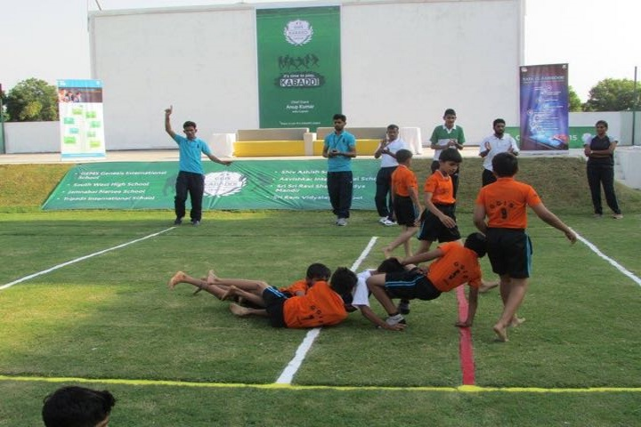 Gems Genesis International School-Kabadi League