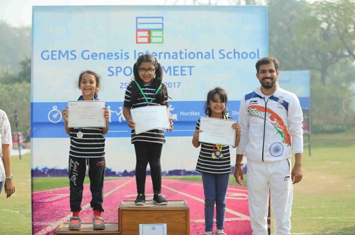 Gems Genesis International School-Sports winners
