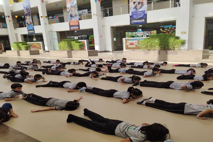 Gems Genesis International School-Yoga