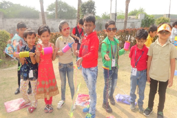 Genius Educational Academy-Kites Day Celebration
