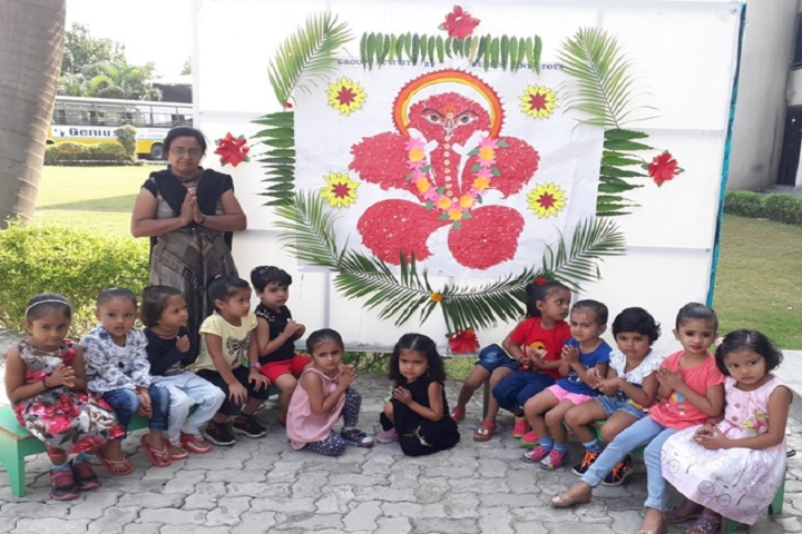 Genius Educational Academy-Vinayaka Chaturti Celebrations