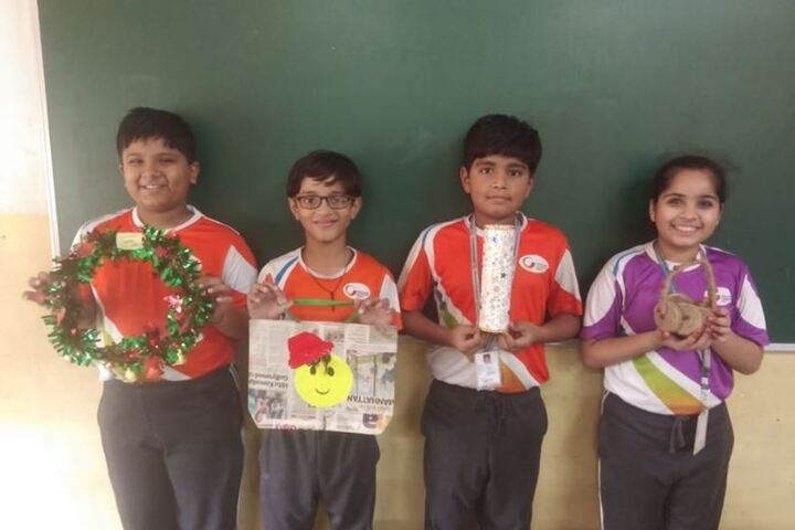 Global Indian International School-Arts and Crafts