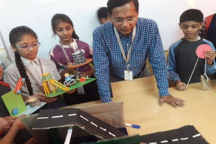 Global Indian International School-Science Exhibition