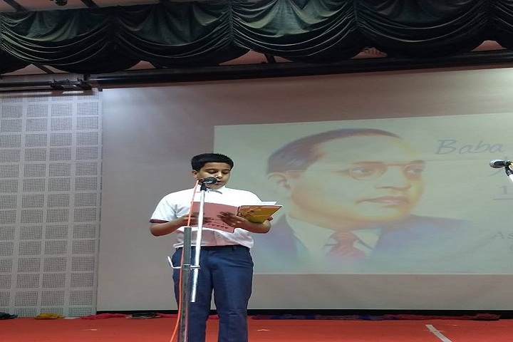 Global Indian International School-Ambedker Jayanthi Celebrations