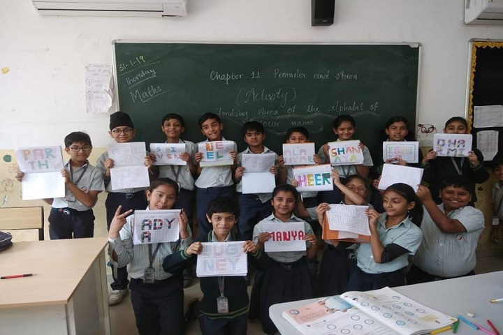 Global Indian International School-Class Activity
