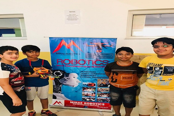 Global Indian International School-Robotics