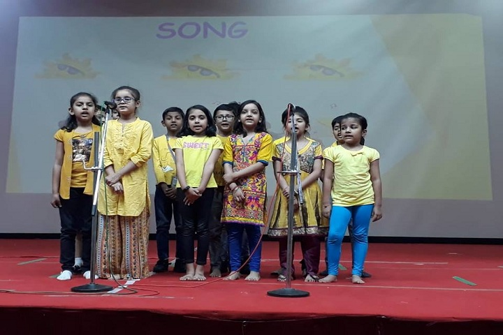 Global Indian International School-Group Singing