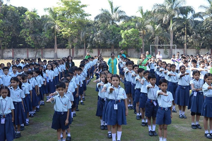 Global Indian International Schools-Assembly
