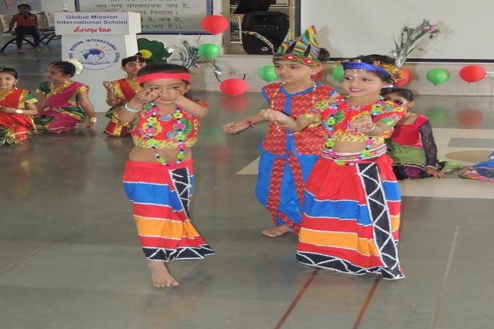Global Mission International School-Tribal Dance